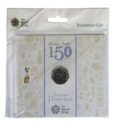 2012 50p Jemima Puddle-Duck Uncirculated Coin Pack for sale